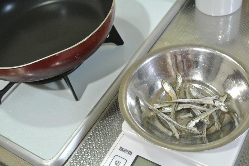 食べる煮干し
