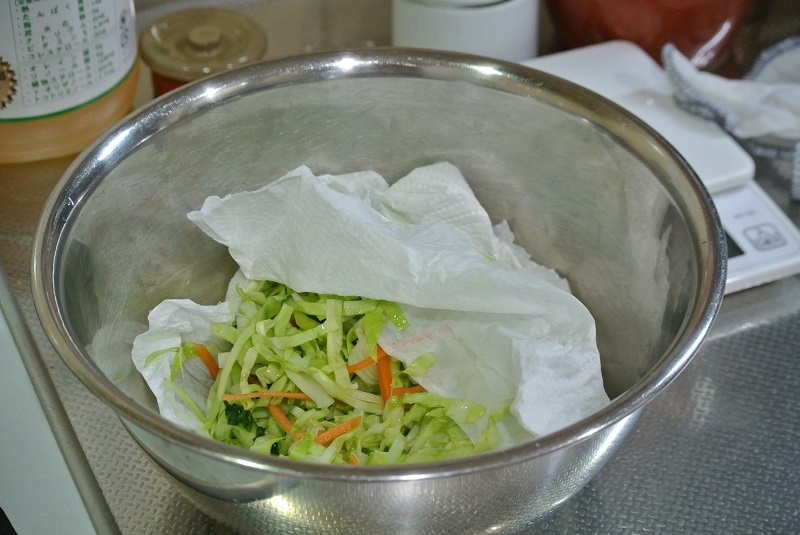 野菜水切り