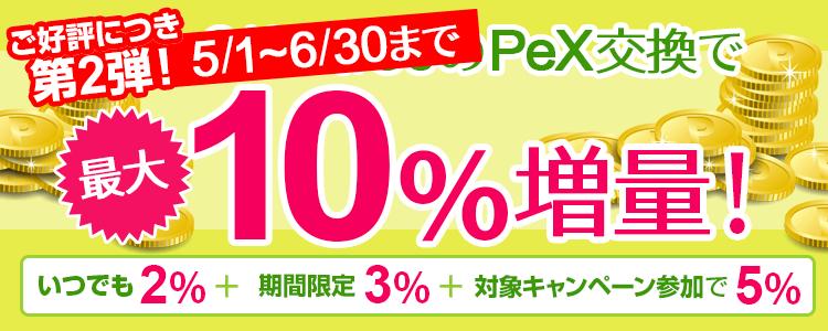 ライフメディア PeX 10%増量