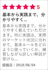 FXスクール 大阪FX教室の口コミ1|基本から実践まで、分かりやすく...