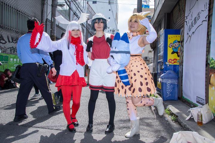 サーバル かばん トキ けものフレンズ コスプレ 01