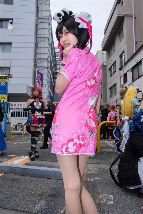 矢澤にこ チャイナドレス編 ラブライブ! コスプレ 4