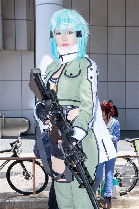 シノン SAO コスプレ 2