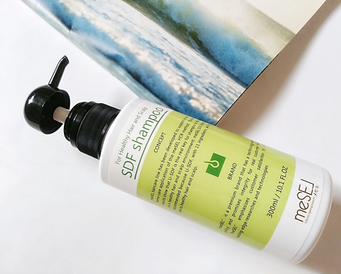 最新技術で開発した抜け毛予防のアミノ酸シャンプー【メセルSDFシャンプー】で頭皮環境改善