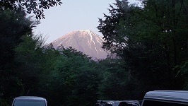 猪の頭-富士山