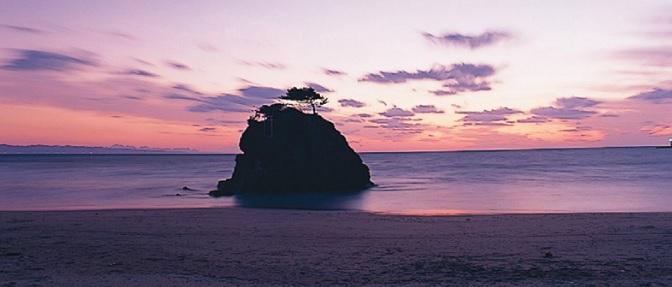 国譲り 稲佐の浜