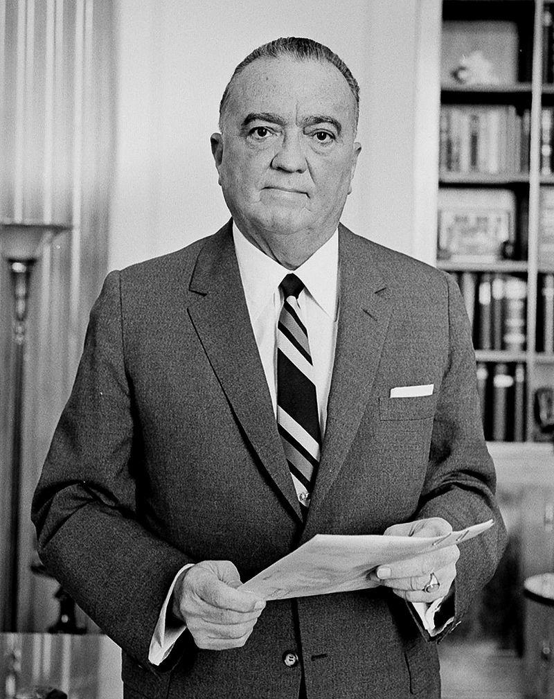 ジョン・エドガー・フーヴァー(初代FBI長官)