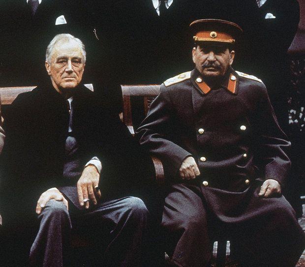 ルーズベルトとスターリン