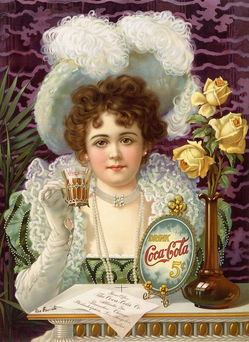 コカ・コーラの広告(1890年代)