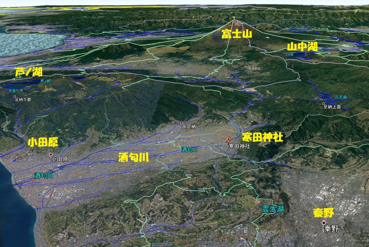 寒田神社 地図