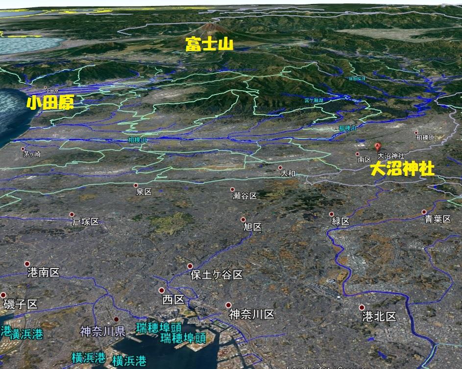 大沼神社 地図