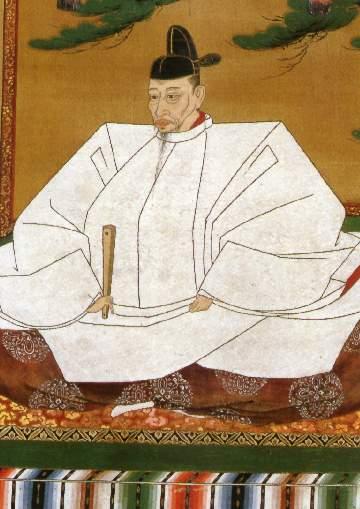 豊臣秀吉像(狩野光信筆 高台寺蔵)