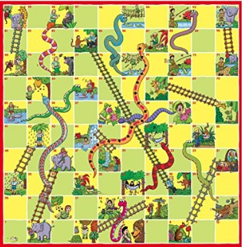 蛇と梯子 1