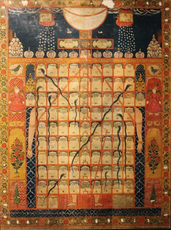 「蛇と梯子」 ジャイナ教版