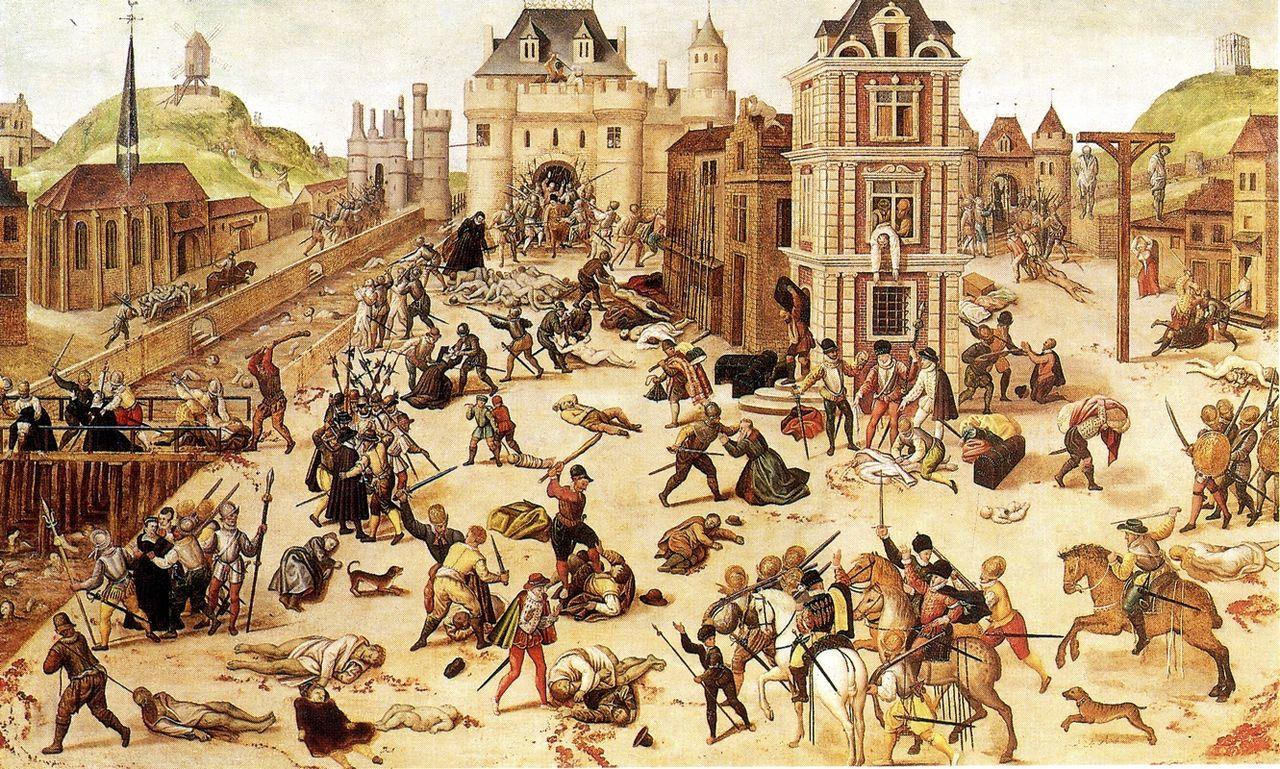 サン・バルテルミの虐殺 フランソワ・デュボワ(1529-1584), ローザンヌ美術館