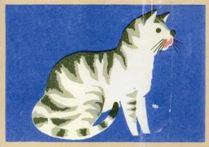 猫 イラスト  オランダ