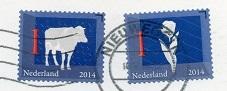 切手22  オランダ