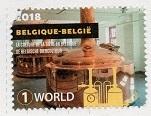 切手1  ベルギー