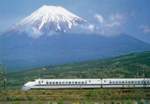 富士と新幹線