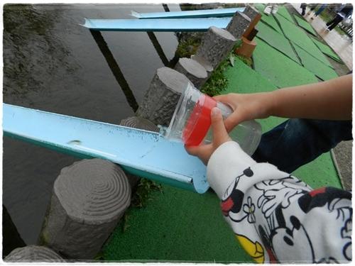 サケの放流体験