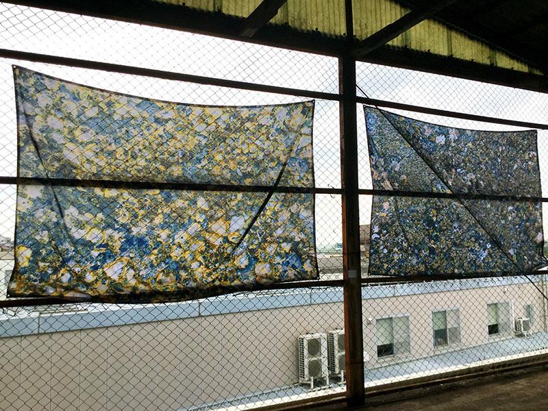 ARAKAWA dust bunny 墨田区 荒川 SENSATION 川合穂波 グループ展 ギャラリー アート