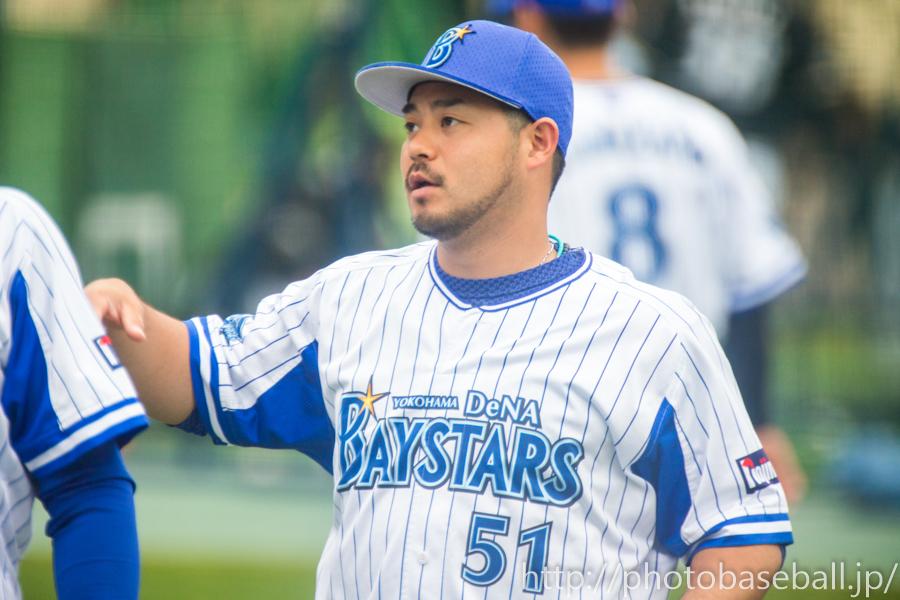 セカンドアップに参加する宮崎敏郎