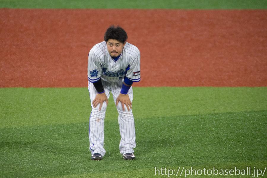 残塁となった宮崎敏郎