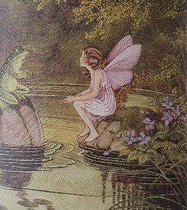 カエルと妖精