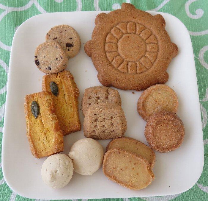 割れクッキー