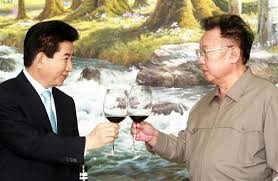 C南北ウンコ首脳会談は恒例行事伝統芸ひな形茶番劇11年前とほぼ同じ!