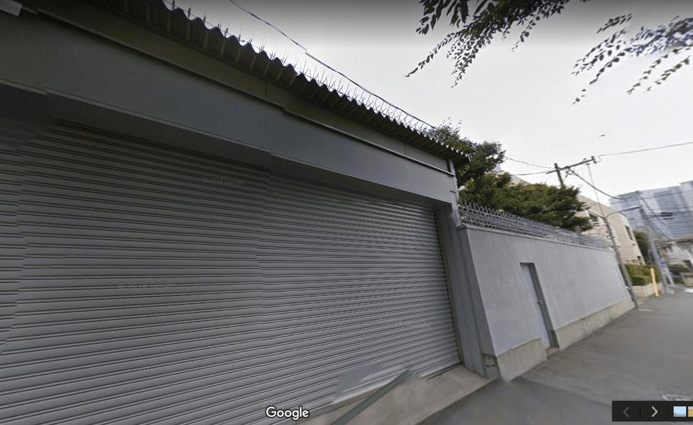 鉄鋼ビルディン車庫