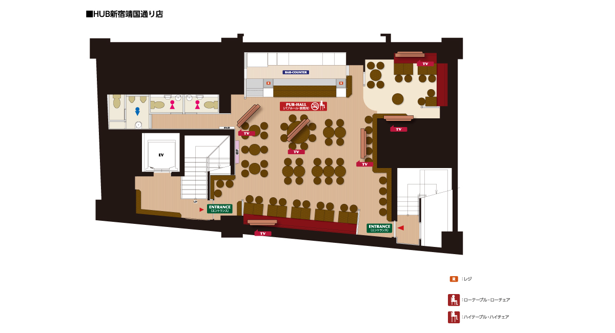 HUB 新宿靖国通り店