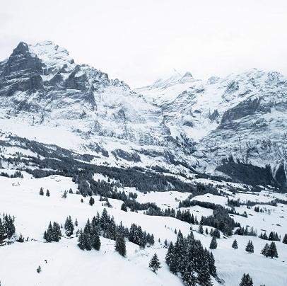 スイスの山々