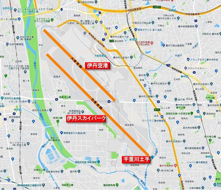 大阪国際空港地図c