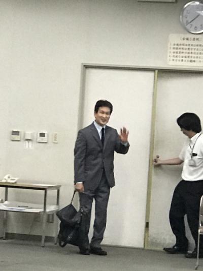 辛坊治郎さん講演会[1]