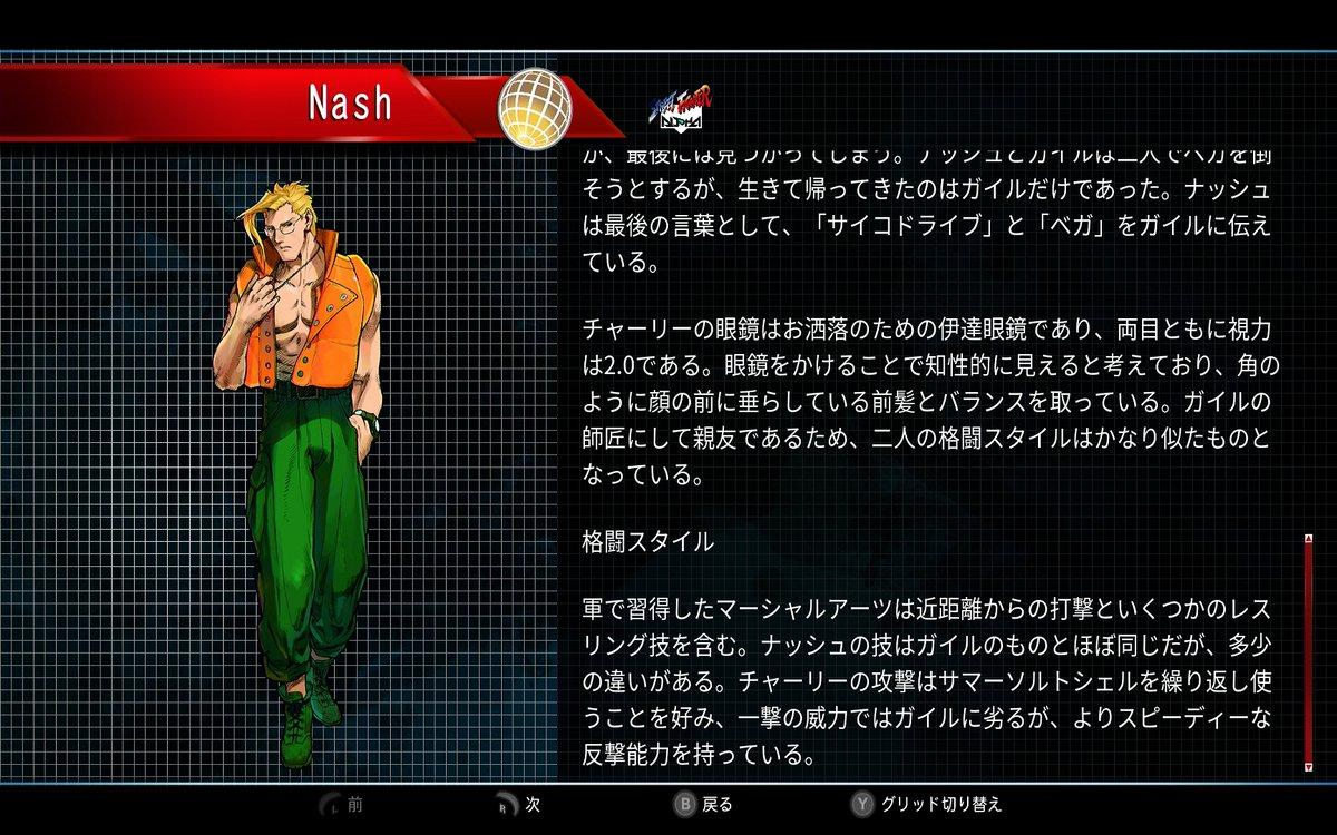 ナッシュ30thプロフィール3