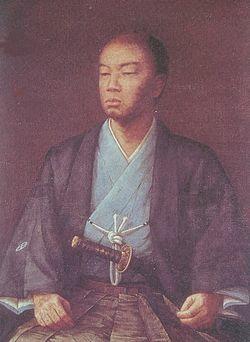 島津久光像、原田直次郎筆