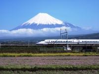 富士山に願掛け
