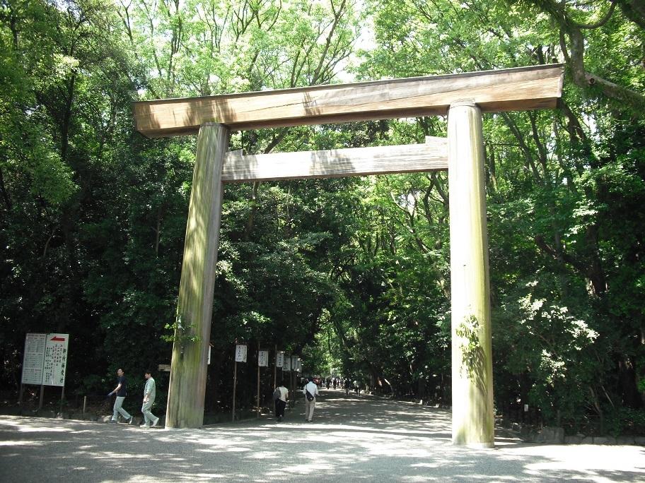 熱田神宮レポート1