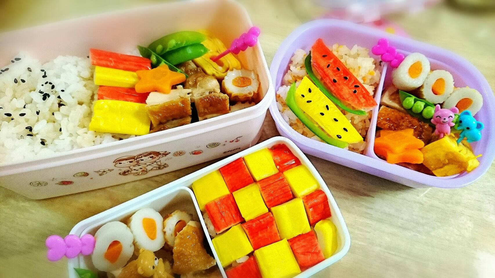 瀬戸内レモン蟹カマを使った幼稚園のお弁当作り