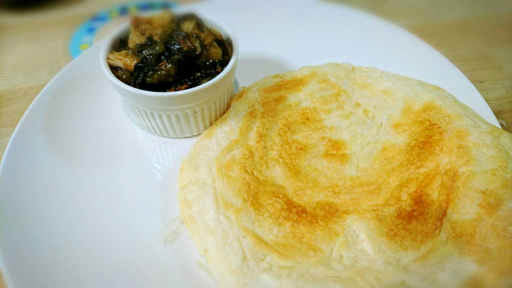 業務スーパーシリーズ インド料理のパラタが絶品