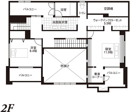 0081_hamadayama_dai2_madori_2F.jpg