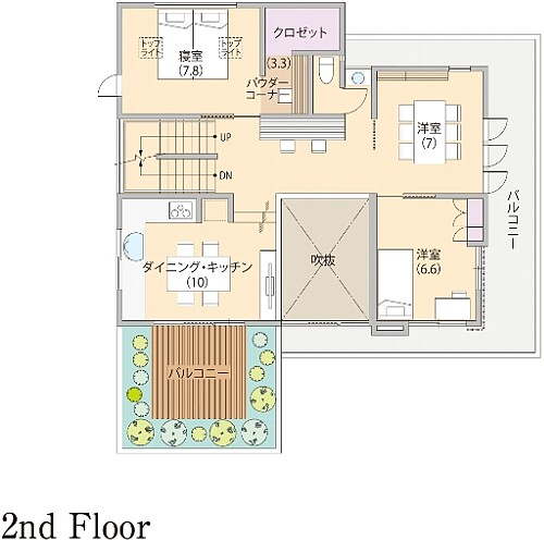 0112_kamakura_oofuna_madori_2F.jpg
