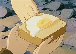【画像】『ジブリアニメ』の「食事シーン」を見るとやたら腹が減る