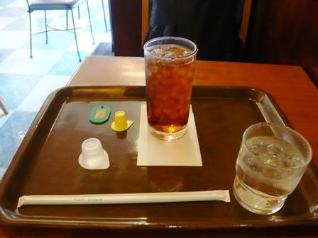 パリオカフェ:アイスレモンティー1