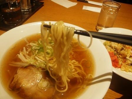 江南:ラーメンセット;柳麺4