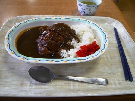 熱田区役所食堂:カツカレー1