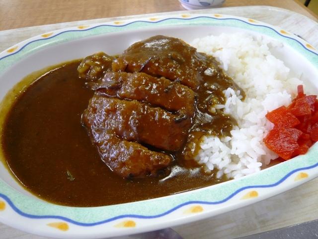 熱田区役所食堂:カツカレー2