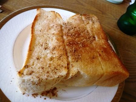 ベーリングプラント:シナモンシュガートースト