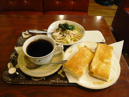 リボン:ホットコーヒー・モーニング1